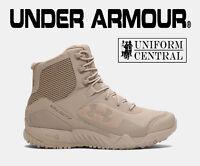 Under Armour UA Men's Desert Sand VALSETZ RTS Tactical Boots ALL SIZES  1250234
