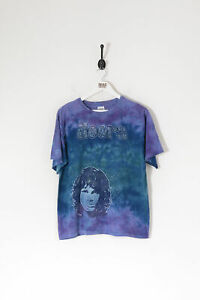 The Doors Graphic Tie Dye T-Shirt Purple (M)