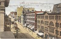 Vancouver, British Columbia - CANADA - Granville Street - 1912 - trollies