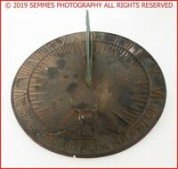 Vintage Virginia Metalcrafters Grow Old With Me The Best Is Yet To Be Sundial.