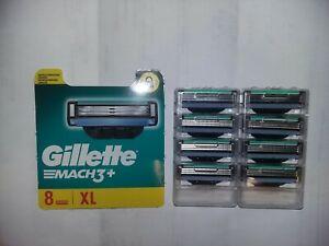 Lames De Rasoir Gillette Mach3+ XL  - 8 les de rasoir mach 3+ gillette