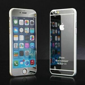 Mirror Tempered Glass Screen Protector Front and Back for Apple iPhone 6+ & 6S+