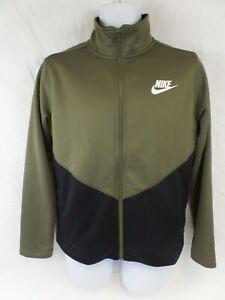 Nike Standard fit Jacket Boys XL Green black