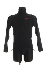 MAMMUT Men's Black Gore Windstopper Softshell Jacket Size XS