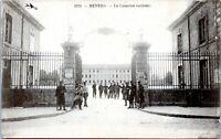 NEVERS FRANCE La Caserne Army Barracks Soldiers Antique 1900s Postcard DB