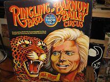 Ringling Bros Barnum & Bailey Circus Poster, 1978, 107th Year, Gunther Gebels-