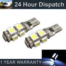 2x W5W T10 501 CANBUS NESSUN ERRORE XENO BIANCO 9 LED LATO FRECCE LAMPADINE