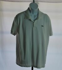 Lacoste White Short Sleeve Polo Men's Sz 10 US 4XL