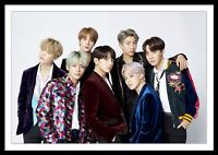 BTS Poster KPOP Jungkook Suga J-Hope V Jin Jimin RM Bangtan Boys Collage Photos
