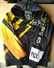 Fox Racing Sasquatch Mens (LARGE) Faux Fur Lined Sherpa Insulated Hoodie Jacket