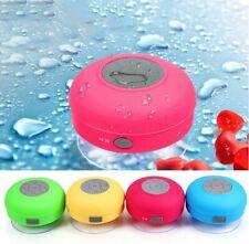 Mini altavoz inalámbrico Bluetooth manos libres impermeable coche Baño Oficina