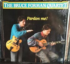 The Bruce Forman Quartet – Pardon Me! Lp Us Issue 1989 Mint