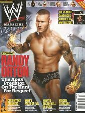 OCTOBER 2012 WWE WRESTLING MAGAZINE RANDY ORTON RKO LEGEND KILLER WRESTLEMANIA