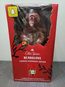 NEW Old Spice Bear Deodorant Holder Figurine 2.6 Oz Bearglove Deodorant Included