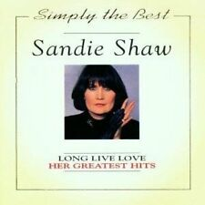 Sandie shaw LONG LIVE LOVE-HER GREATEST HITS (simpy the best)