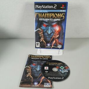 Champions Return to Arms Playstation PS2 Action Video Game Manual PAL