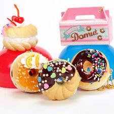 Cell Phone Donut Squishy Charm Strap J Dream Kawaii Miniature Food Figure