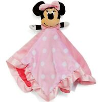 Authentic Disney Baby Kid Toddler Mickey Minnie Crinkling Soft Plush Blanket Toy