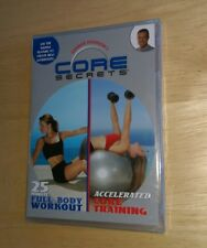Gunnar Peterson's Core Secrets DVD 25 minute full body workout Accelerated Train