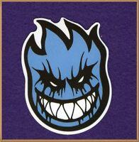 2 Blue Spitfire Vinyl Stickers