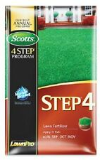 (1) SCOTTS 5000 SQ FT STEP 4 LAWN FERTILIZER - FOOD 32-0-12 - 23622