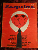 ESQUIRE May 1960 Diahann Carroll Charles De Gaulle William Styron Olivetti