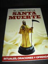 BOOk RITUALES ORACIONES Y OFRENDAS SANTA MUERTE libro