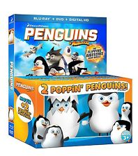 Penguins of Madagascar (Blu-ray/DVD, 2015, Includes Digital Copy Gift Set)