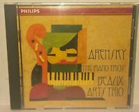Beaux Arts Trio Arensky The Piano Trios CD Vintage 1995 Philips Classical