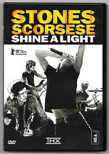 DVD / THE ROLLING STONES STONES SCORSESE SHINE A LIGHT (MUSIQUE CONCERT)