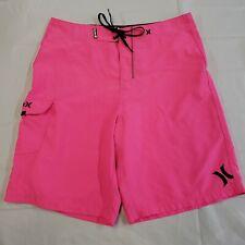 Hurley Boardshorts Size 33 Men's Pink