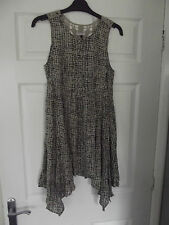 BNWT RIVER ISLAND KHAKI MIX FLORAL LACE DRESS SIZE 8