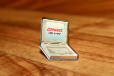 Compaq Computer company Old Vintage Collectible Rare Promo Pin / Badge