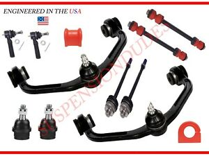 12PC Front Suspension Kit Upper Arms Tie Rod Ends Ford Ranger Mazda 29-30MM BAR