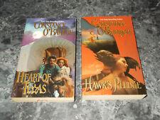 Constance O'Banyon lot of 2 historical romance paperback