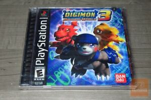 Digimon World 3 (PlayStation 1, PS1 2002) FACTORY SEALED! - RARE!
