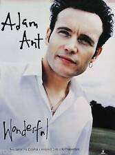 ADAM ANT 1995 WONDERFUL ORIGINAL PROMO POSTER