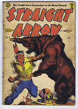 Straight Arrow #3 ME Pub 1950 Frazetta-cover.
