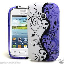 Floral Elegante silicone/gel Funda Para Samsung Gt-s6310 S6310l Galaxy Young