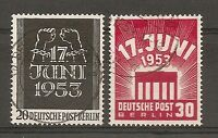 TIMBRE ALLEMAGNE BERLIN N°96/97 OBLITERE COTE 38 EUROS