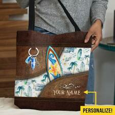 New listing Surfing Personalized Tote Bag