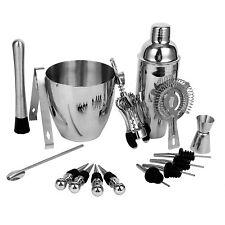 16pcs Stainless Steel Wine &Cocktail Mixing Bar Set Barware Tools Bartender Kit