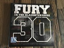 3 CD/DVD FURY IN THE SLAUGHTERHOUSE - 30-THE ULTIMATE BEST OF COLLECTION BOX NEU