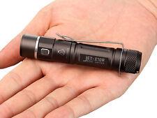 New Jetbeam E10R USB Charge Cree XP-L HI 650 Lumens LED Flashlight (AA, 14500)