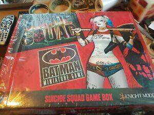 Batman Miniatures Game - Suicide Squad - Game Box Knight Models NIB!