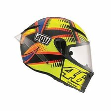 Gloss Carbon Fibre Full Face Motorcycle Vehicle Helmets