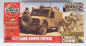 (245) 2012 Airfix 1/48th Land Rover Patrol - Operation Herrick