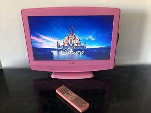 "ALBA Pink 19"" HD TV / DVD & Freeview - ATVD91186P"