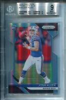 Josh Allen 2018 Panini Prizm Light Blue Rookie Card (BGS)