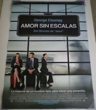 UP IN THE AIR MOVIE POSTER DS ORIGINAL SPANISH 27x40 GEORGE CLOONEY
